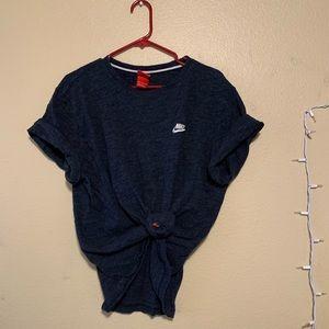 Nike Navy Baggy/Oversized T-Shirt